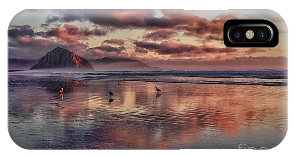 Sunset At Morro Strand IPhone Case
