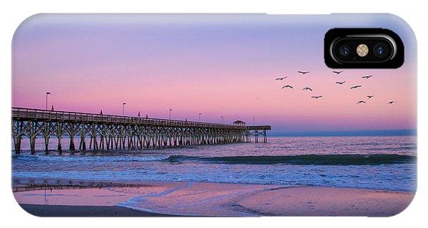 Sunset At Myrtle Beach IPhone Case