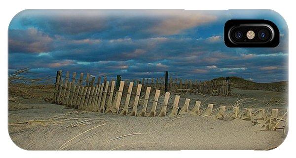 Sunset At Nauset Beach Cape Cod IPhone Case