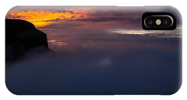 Colombia iPhone Case - Sunset At Nevado Del Ruiz by Jess Kraft