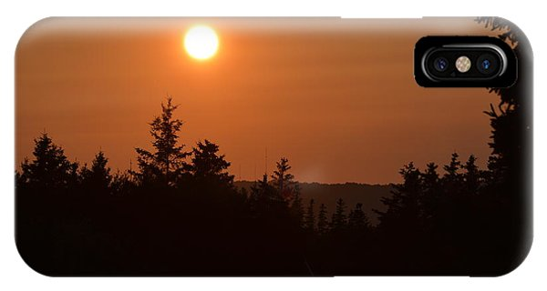 Sunset At Owl's Head IPhone Case
