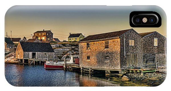 Sunset At Peggy's Cove IIi IPhone Case