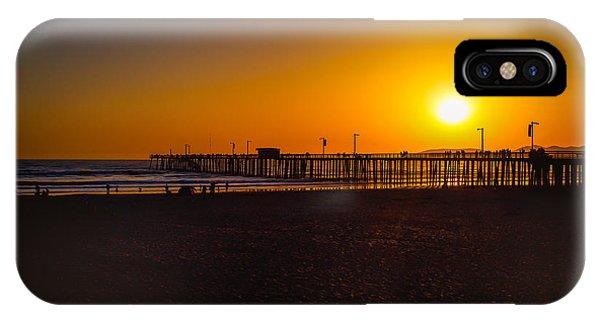 Sunset At Pismo IPhone Case