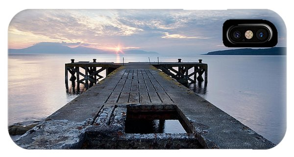 Sunset At Portencross IPhone Case