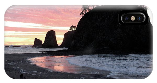 Sunset At Rialto Beach 1 IPhone Case