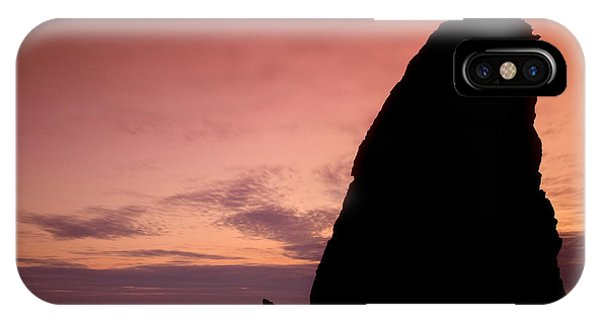Sunset At Rialto Beach Phone Case by Keith Kapple