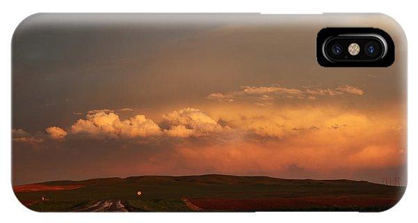 Sunset At Rockglen IPhone Case