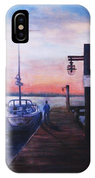 Sunset At Rocky Point IPhone Case