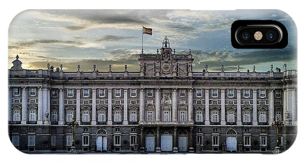 Sunset At Royal Palace IPhone Case
