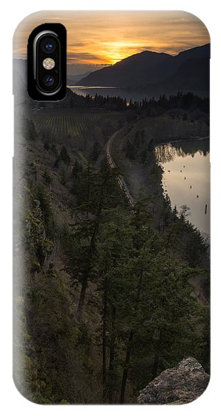 Sunset At Ruthton Point IPhone Case