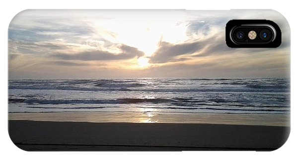 Sunset At San Gregorio IPhone Case