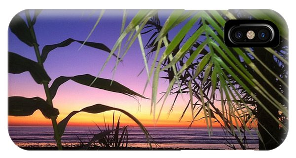 Sunset At Sano Onofre IPhone Case