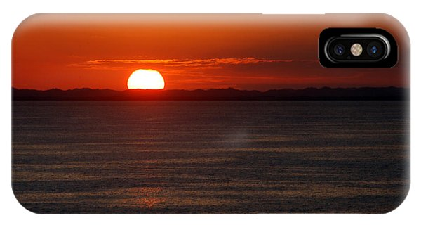 Sunset At Sea IPhone Case
