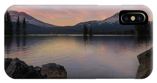 Sunset At Sparks Lake IPhone Case