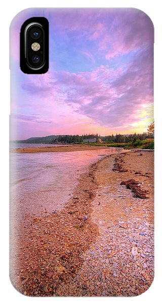 sunset at Stanley Beach. IPhone Case