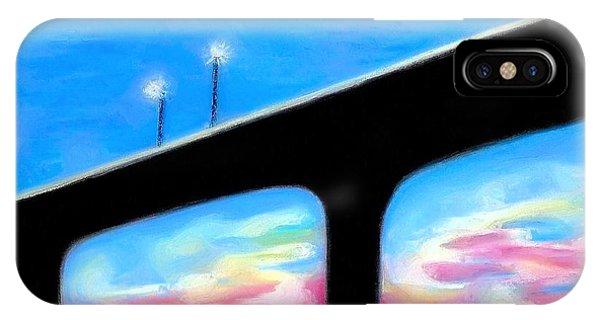 Sunset At The Bridge IPhone Case