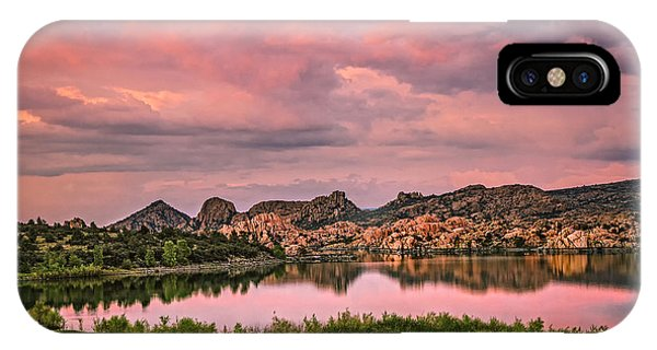Sunset At The Dells IPhone Case