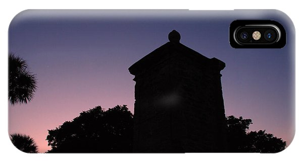 Sunset At The Gate IPhone Case