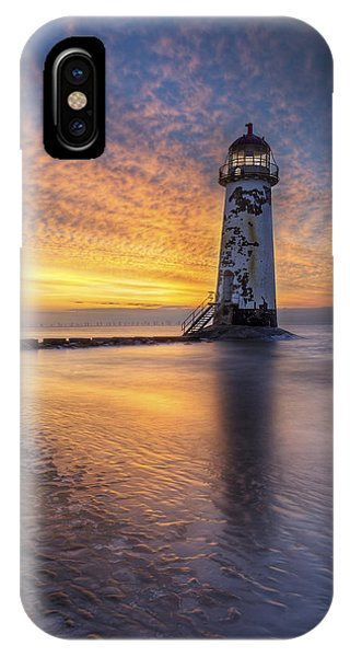 Sunset At The Lighthouse IPhone Case
