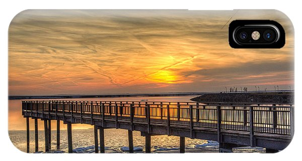 Sunset At The Pier IPhone Case