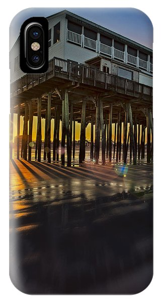 Orchard Beach iPhone Case - Sunset At The Pier by Susan Candelario