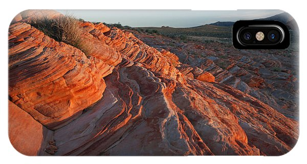 Sunset At The Valley Of Fire IPhone Case
