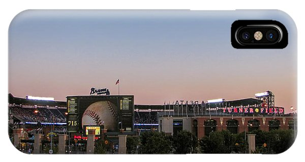 Sunset At Turner Field IPhone Case
