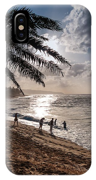 Sunset Beach Park IPhone Case