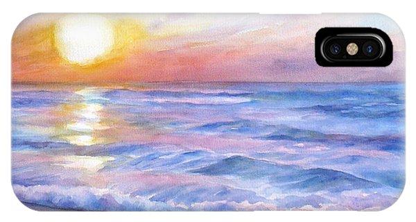 Sunset Beach Hawaii Seascape  IPhone Case