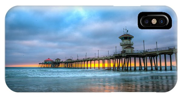 Sunset Beneath The Pier IPhone Case
