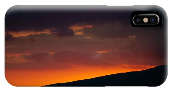 Sunset Beyond The Waianae Mountain Range IPhone Case