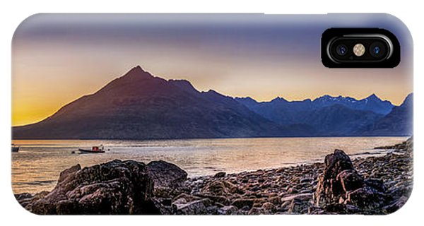 Sunset Black Cuillin Isle Of Skye Scotland IPhone Case