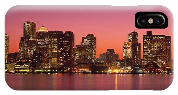 Sunset Boston Ma IPhone Case