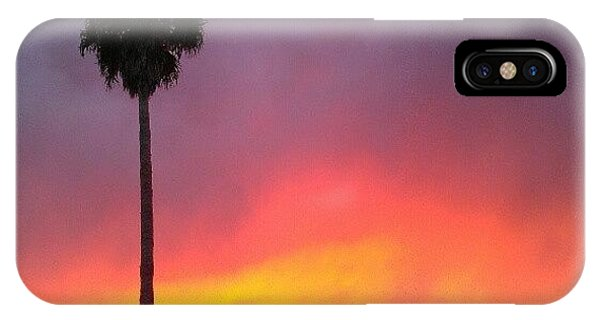 Orange iPhone Case - Sunset California by CML Brown