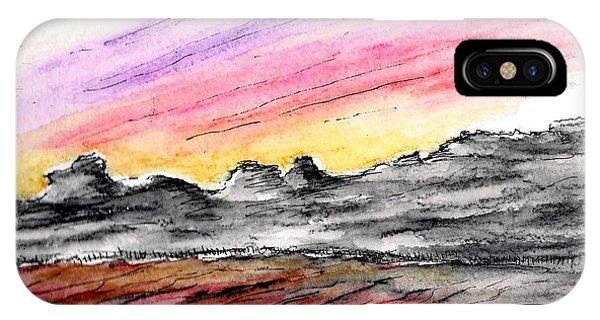 Sunset Canyon IPhone Case