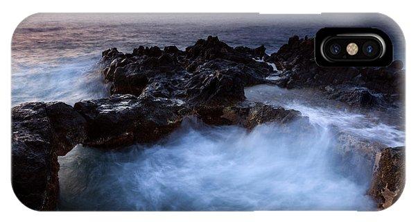 Cauldron iPhone Case - Sunset Churn by Mike Dawson