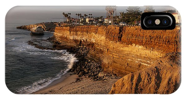 Sunset Cliffs 1 IPhone Case