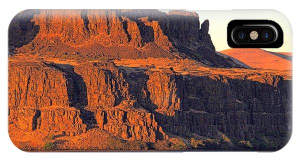 Sunset Cliffs At Horsethief  IPhone Case