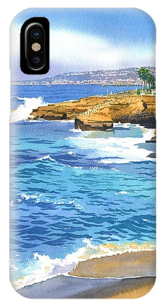 Sunset Cliffs Point Loma IPhone Case