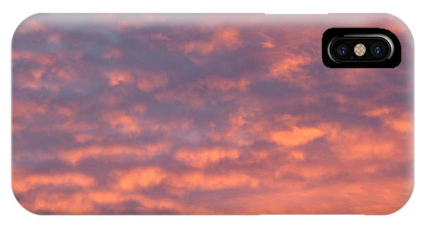 Sunset Clouds Phone Case by Mark Bowden