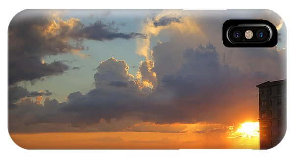 Sunset Shower Sarasota IPhone Case
