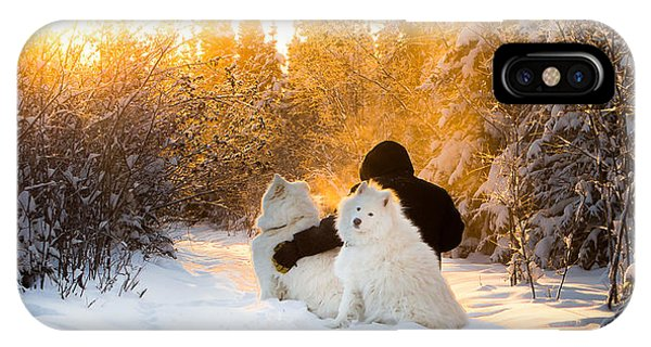 Sunset Companions IPhone Case