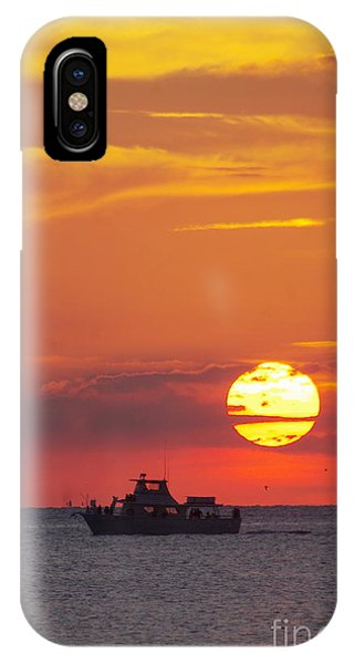 Sunset Cruise IPhone Case