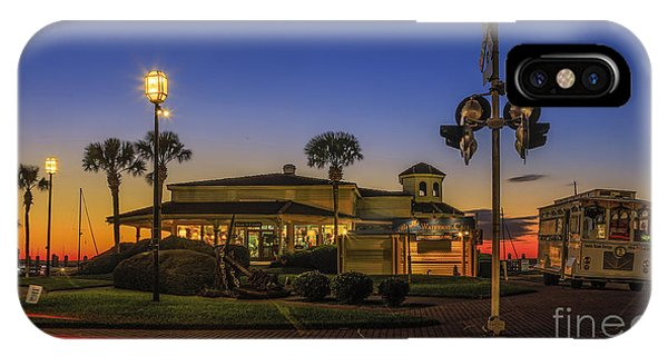 Sunset Diner IPhone Case