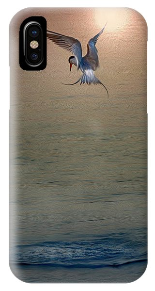 Sunset Dive IPhone Case