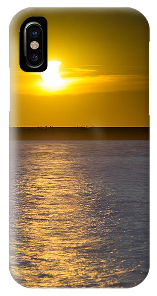 Sunset Eclipse IPhone Case