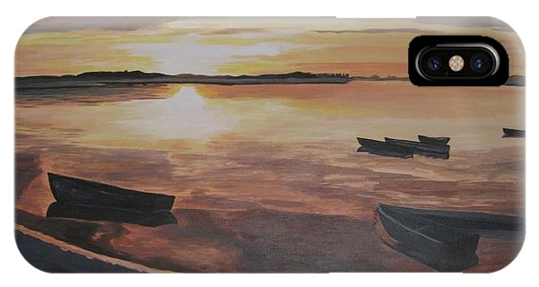 Sunset Evening Tide IPhone Case