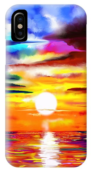 Sunset Explosion IPhone Case