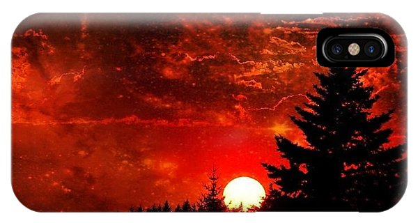 Sunset Fantasy I IPhone Case