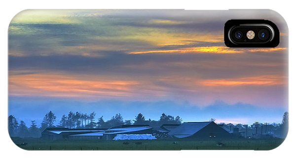 Sunset Farm IPhone Case